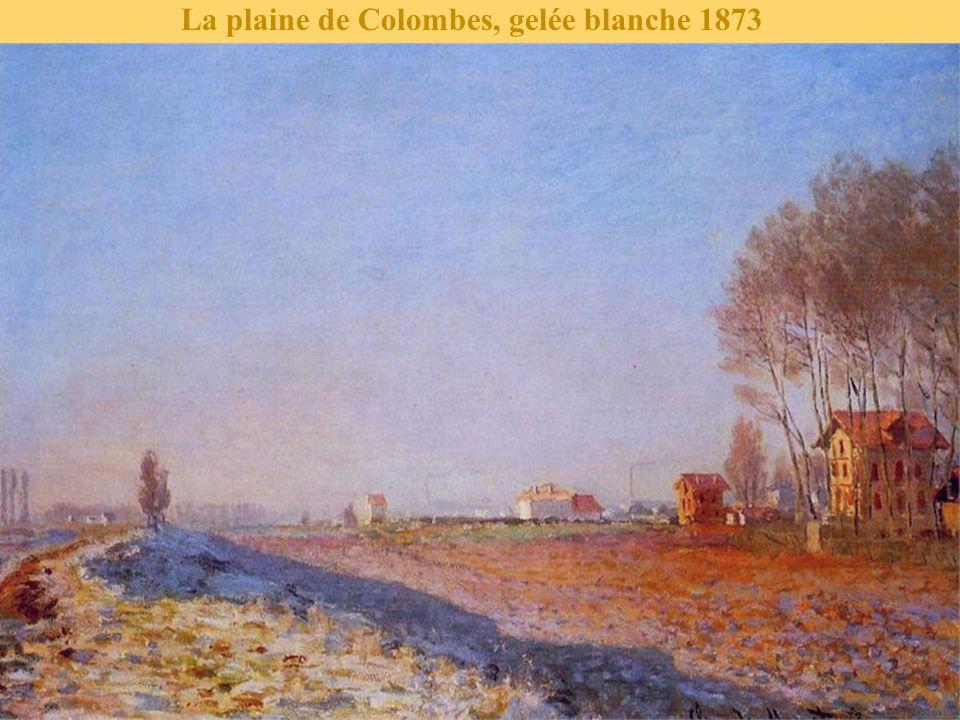 La plaine de Colombes, gelée blanche 1873