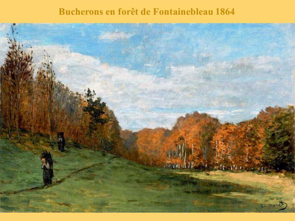 Bucherons en forêt de Fontainebleau 1864