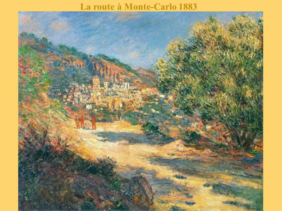 La route à Monte-Carlo 1883