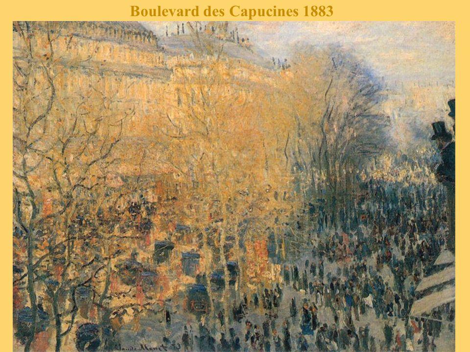 Boulevard des Capucines 1883