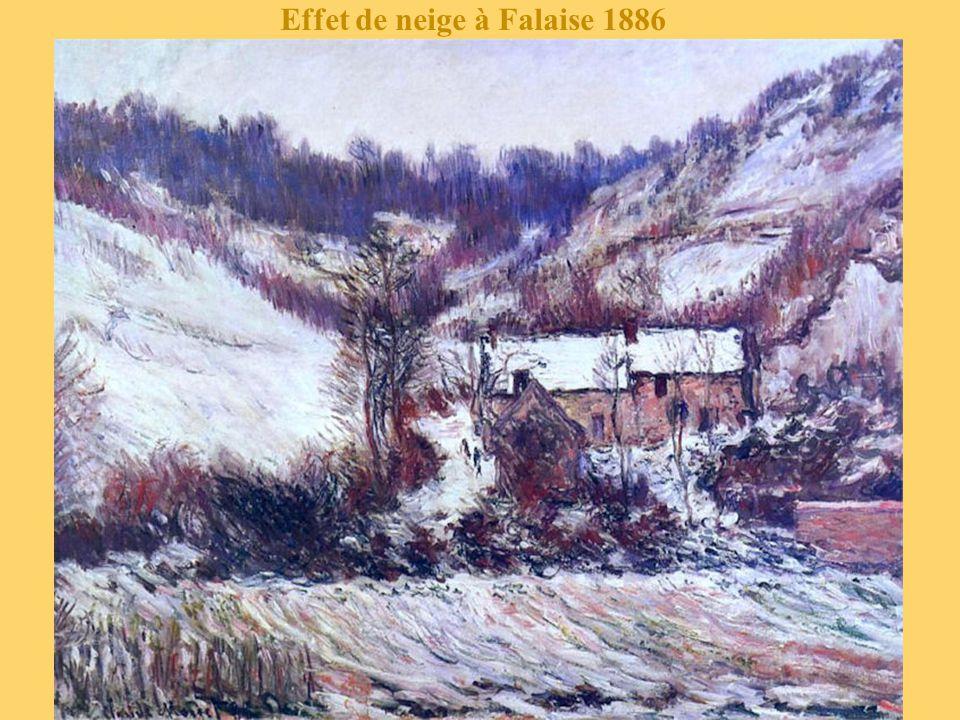 Effet de neige à Falaise 1886