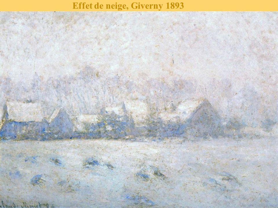 Effet de neige, Giverny 1893