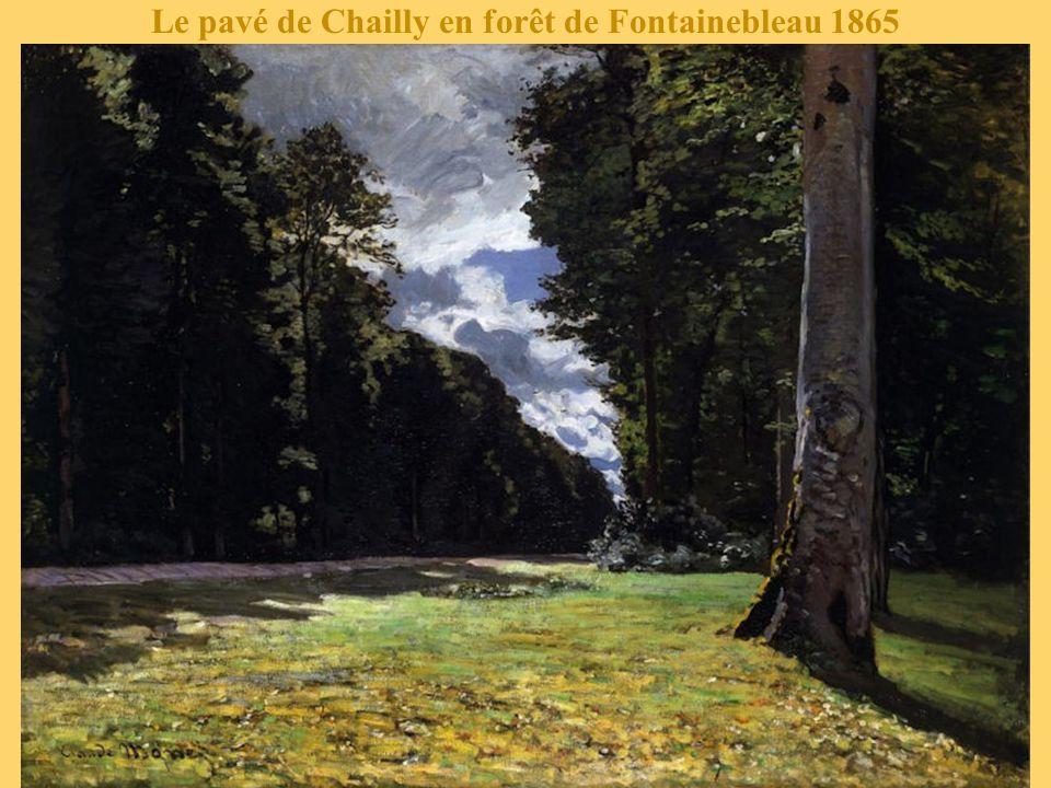 Le pavé de Chailly en forêt de Fontainebleau 1865