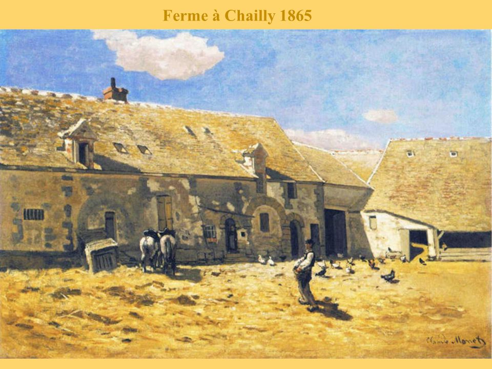 Ferme à Chailly 1865