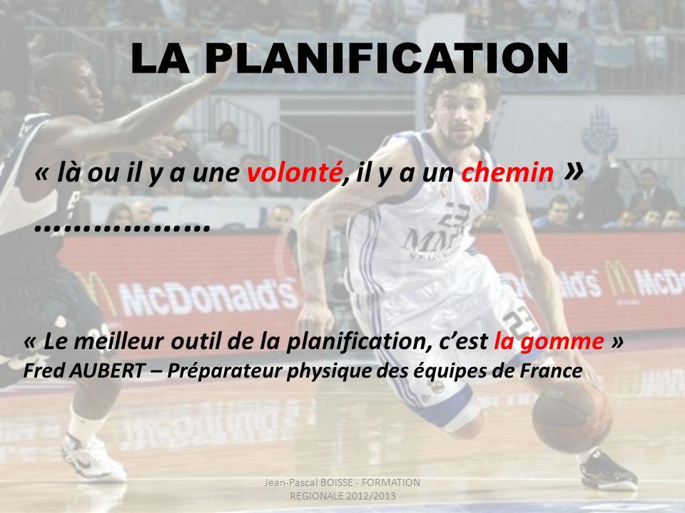 Jean-Pascal BOISSE - FORMATION REGIONALE 2012/2013