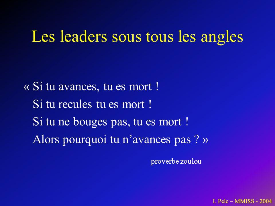Les leaders sous tous les angles