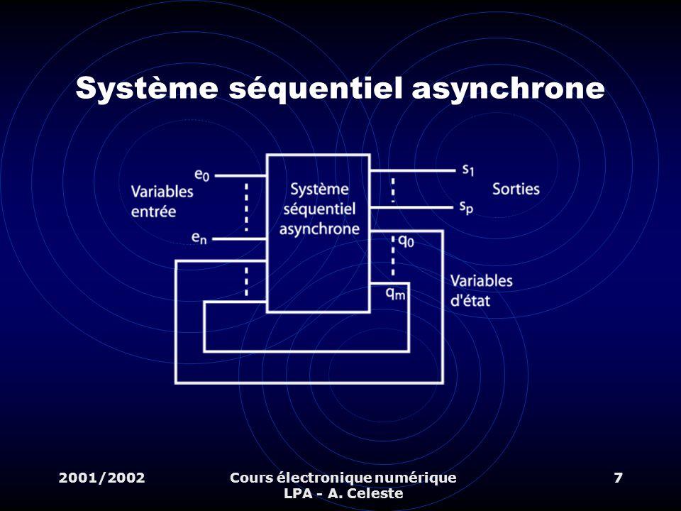 Système séquentiel asynchrone