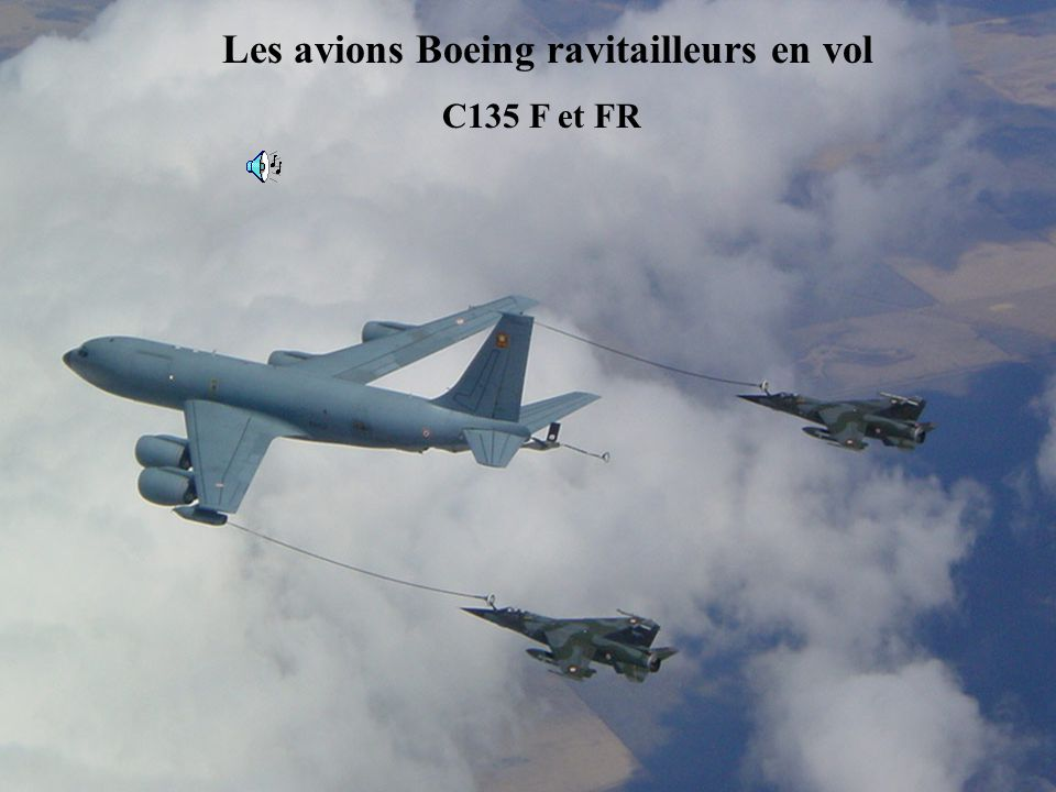 Les avions Boeing ravitailleurs en vol