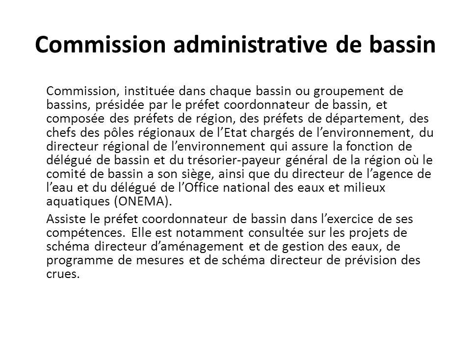 Commission administrative de bassin
