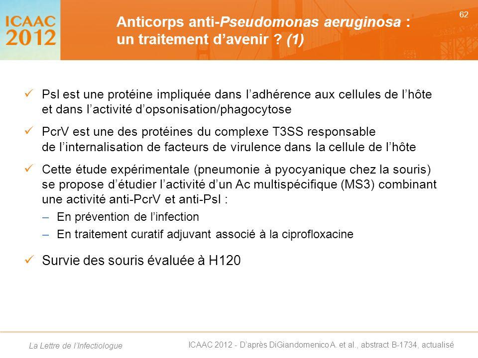 Anticorps anti-Pseudomonas aeruginosa : un traitement d'avenir (1)