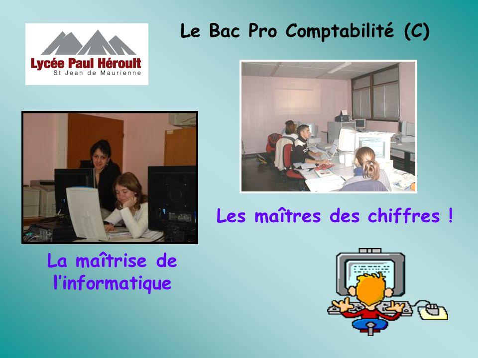 Le Bac Pro Comptabilité (C)
