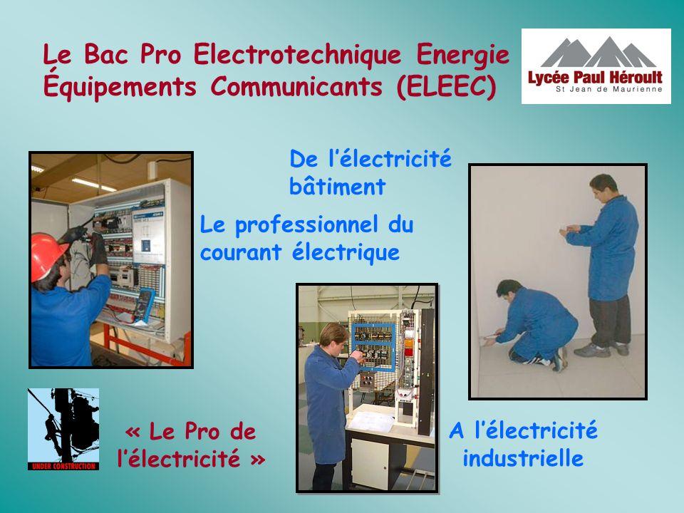 « Le Pro de l'électricité » A l'électricité industrielle