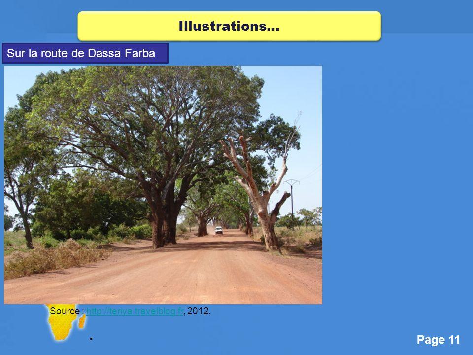 Illustrations… Sur la route de Dassa Farba