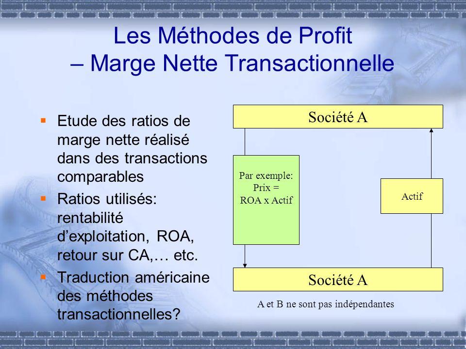 Les Méthodes de Profit – Marge Nette Transactionnelle