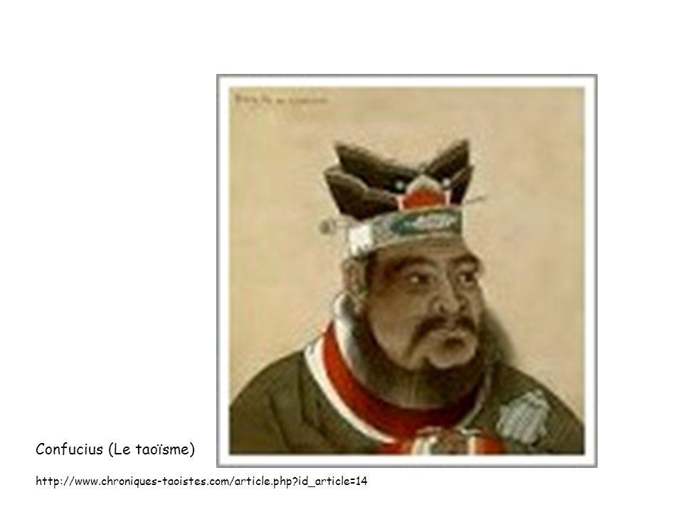 Confucius (Le taoïsme)