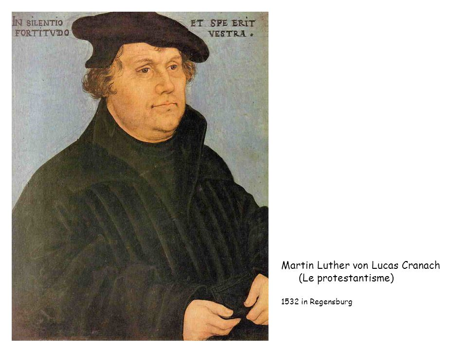 Martin Luther von Lucas Cranach (Le protestantisme)