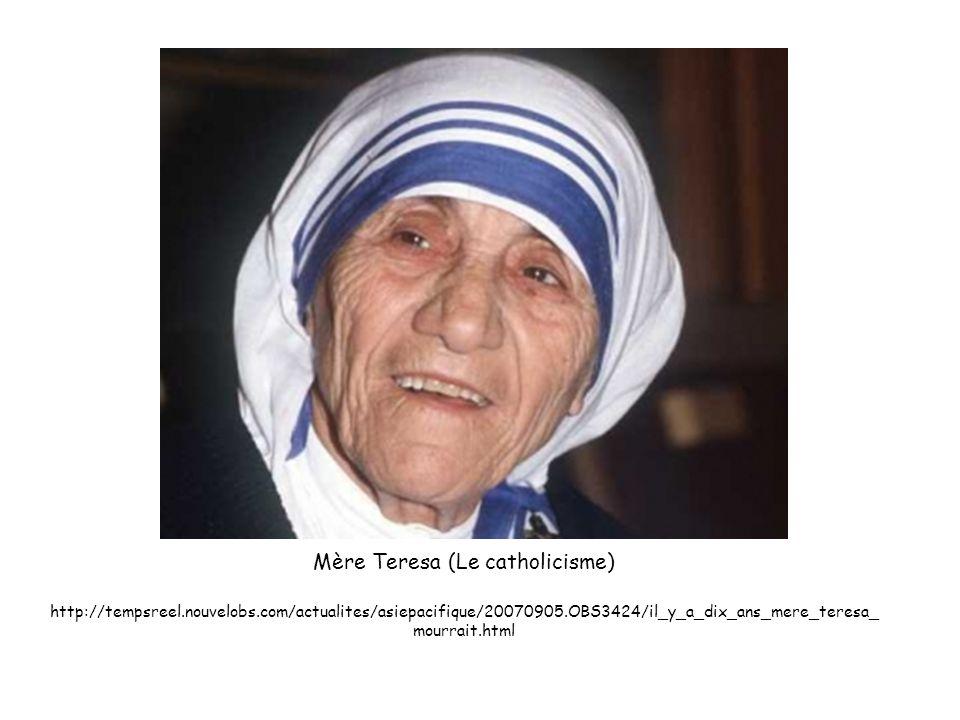 Mère Teresa (Le catholicisme)
