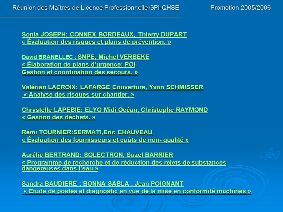 Sonia JOSEPH: CONNEX BORDEAUX, Thierry DUPART