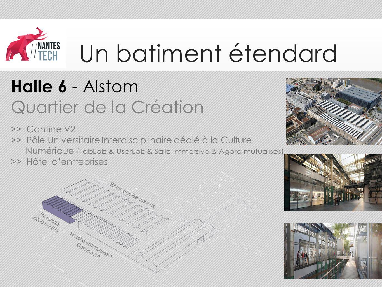 Hôtel d'entreprises + Cantine 2.0