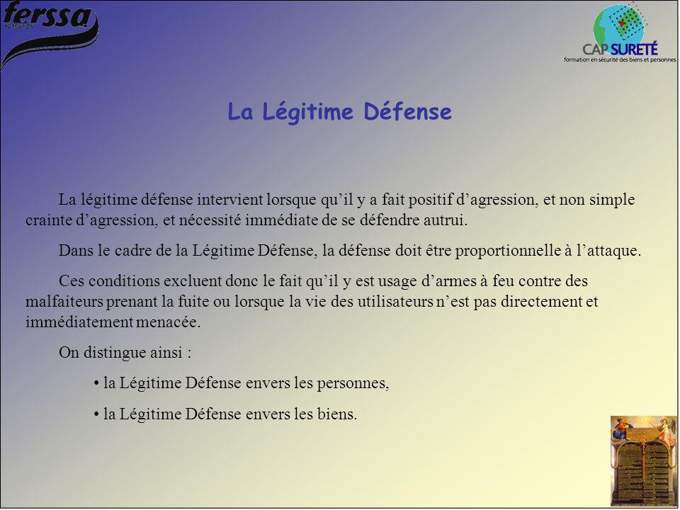 La Légitime Défense