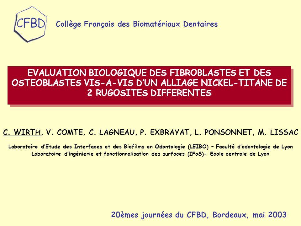 Collège Français des Biomatériaux Dentaires