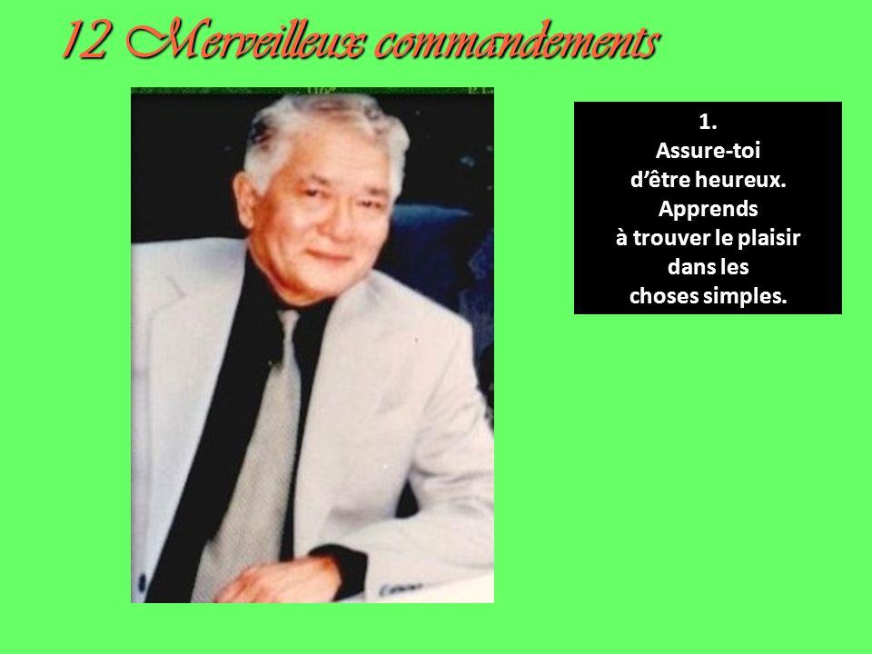 12 Merveilleux commandements