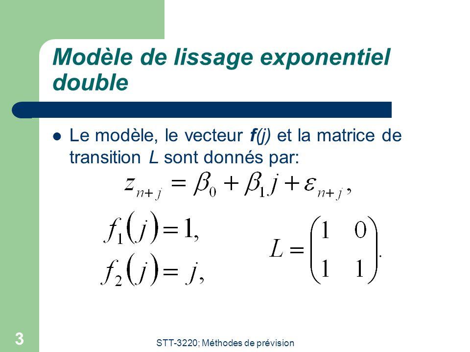 Modèle de lissage exponentiel double