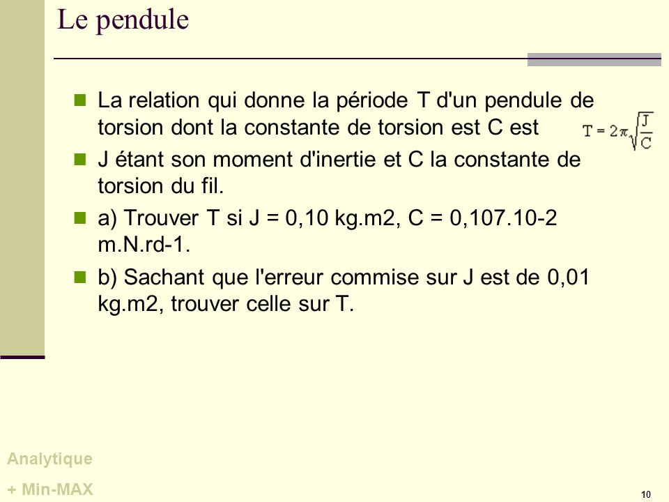 m thode analytique concr tement m1 ppt video online