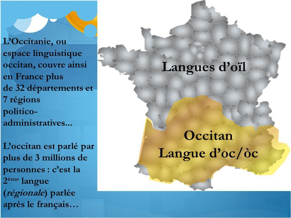 Occitan Langue d'oc/òc