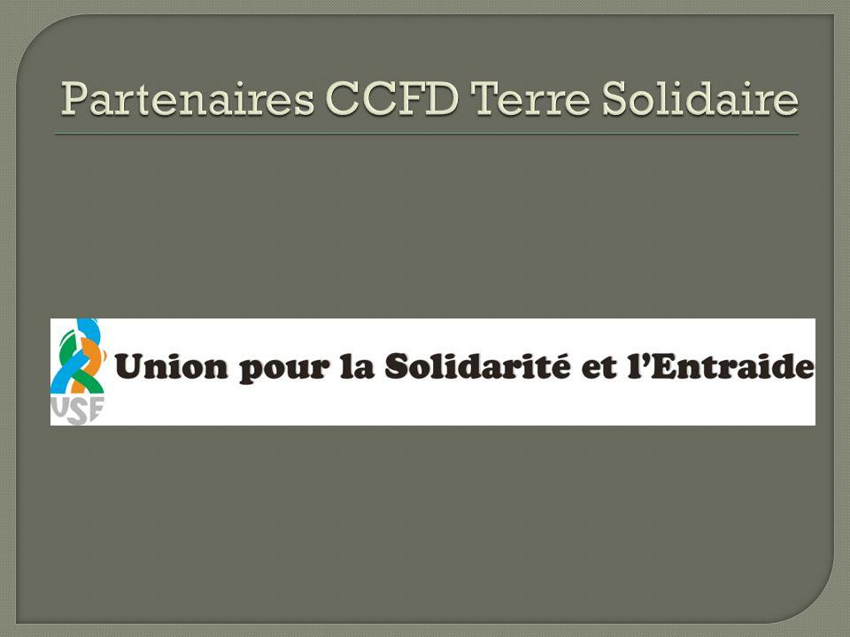 Partenaires CCFD Terre Solidaire
