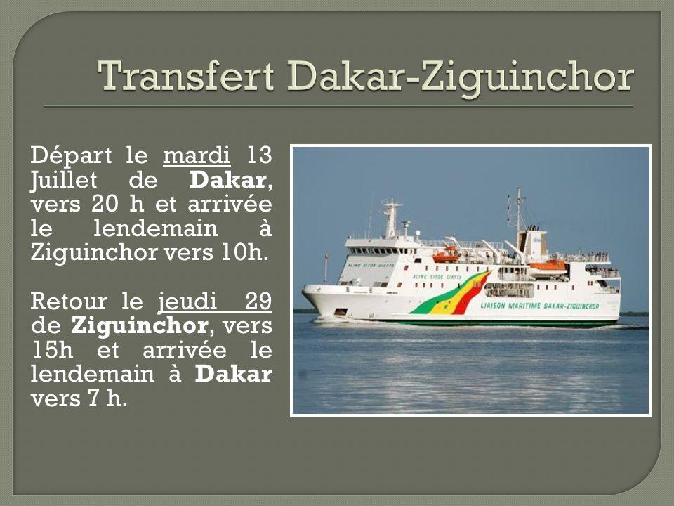 Transfert Dakar-Ziguinchor