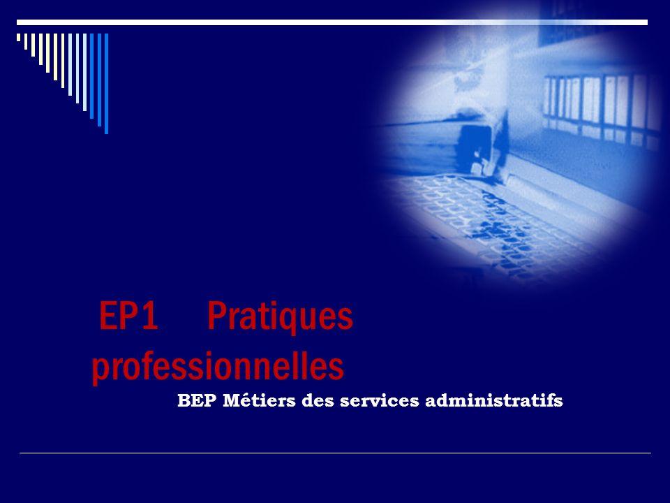 EP1 Pratiques professionnelles