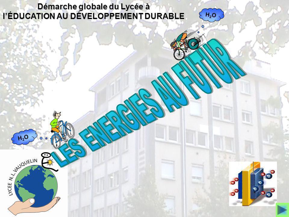 Démarche globale du Lycée à l'ÉDUCATION AU DÉVELOPPEMENT DURABLE