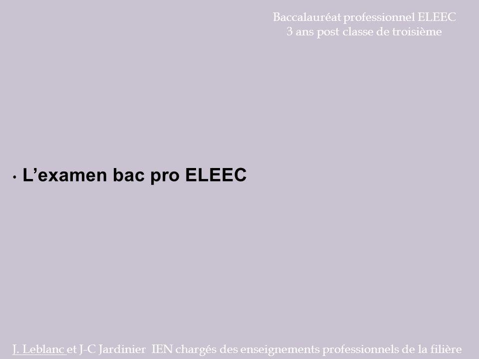 Baccalauréat professionnel ELEEC 3 ans post classe de troisième
