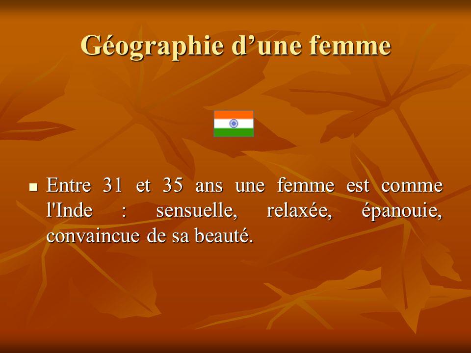 Géographie d'une femme
