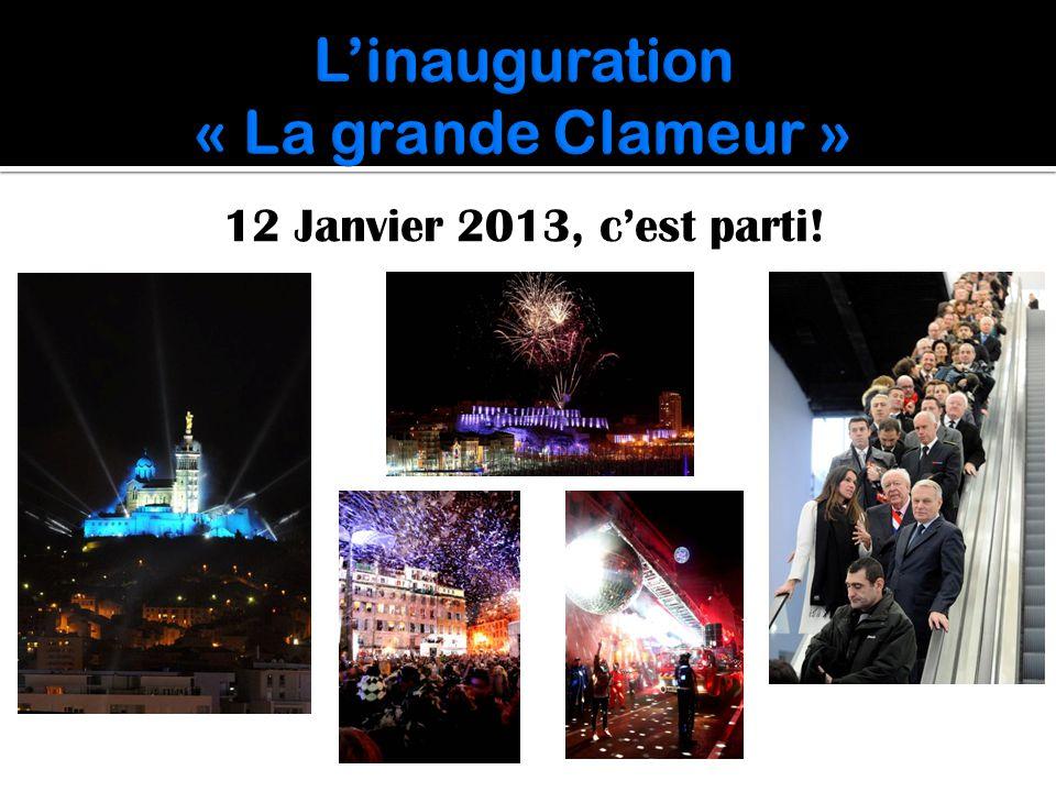L'inauguration « La grande Clameur »