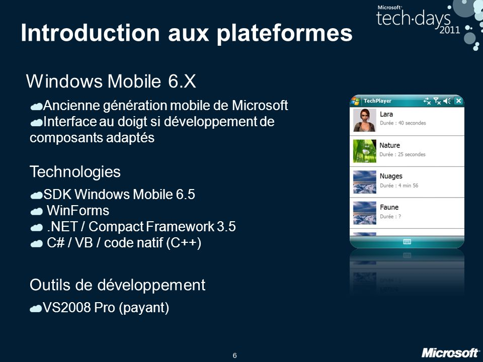 Introduction aux plateformes