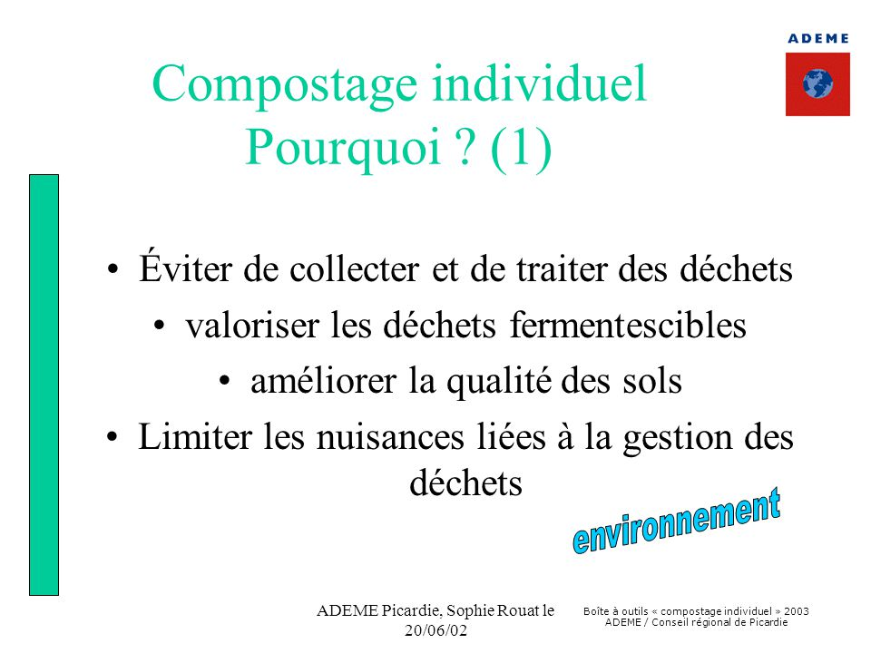 Compostage individuel Pourquoi (1)