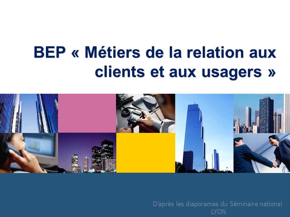 BEP « Métiers de la relation aux clients et aux usagers »