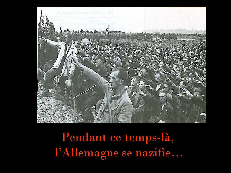 Pendant ce temps-là, l'Allemagne se nazifie…