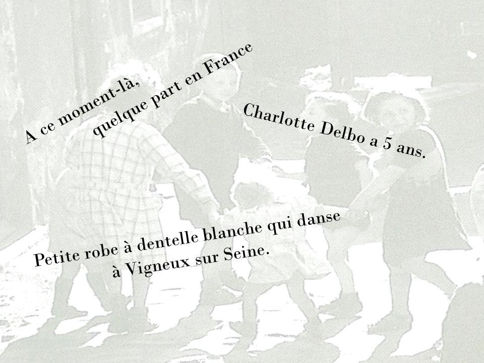 Petite robe à dentelle blanche qui danse à Vigneux sur Seine.