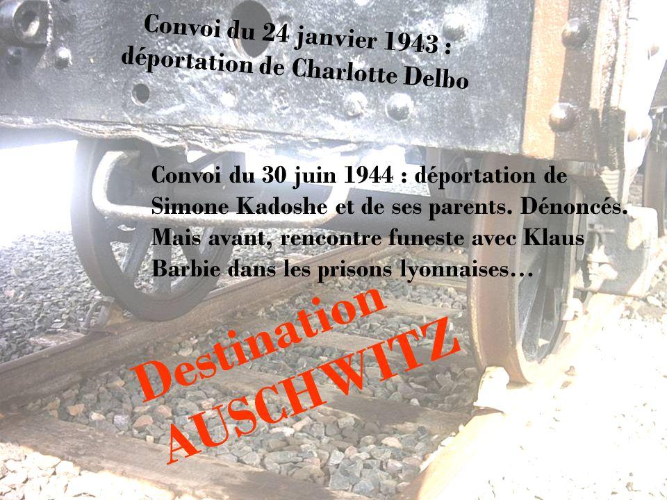 Convoi du 24 janvier 1943 : déportation de Charlotte Delbo
