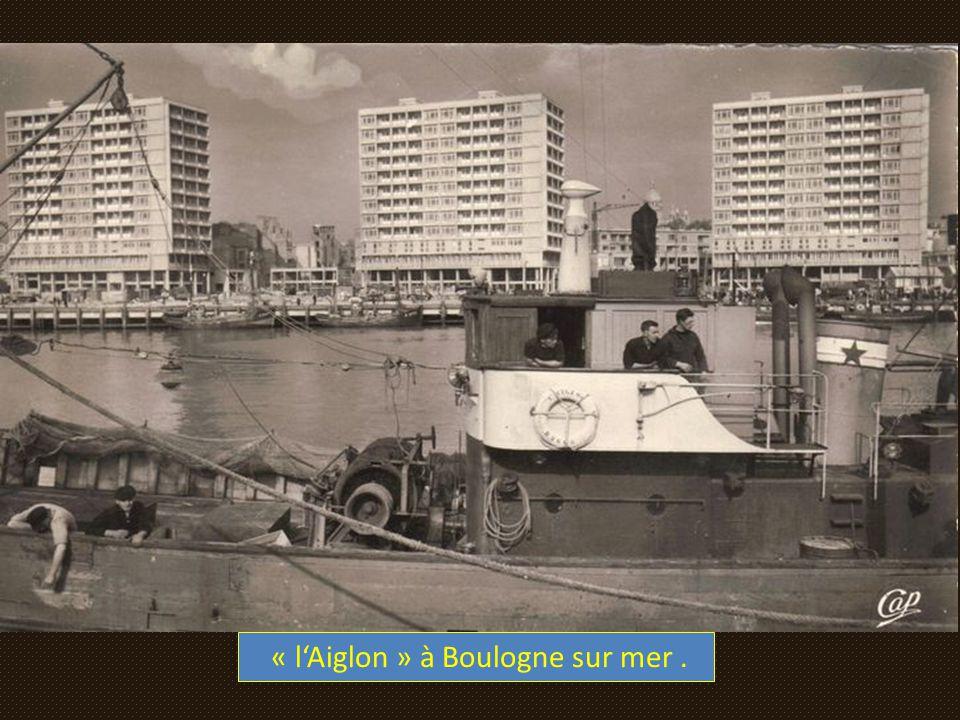 « l'Aiglon » à Boulogne sur mer .