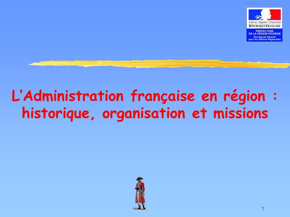 L'Administration française en région : historique, organisation et missions