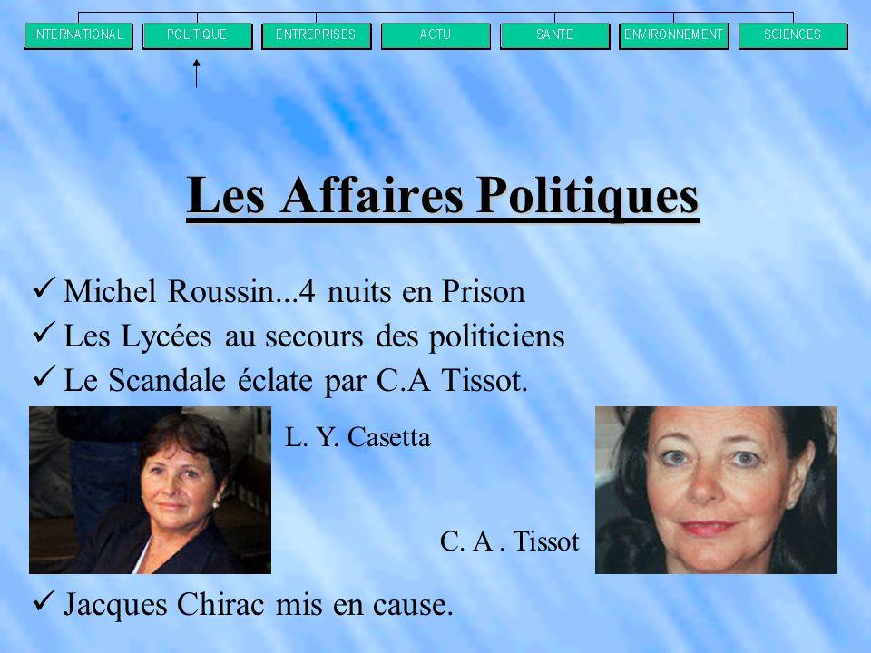 Les Affaires Politiques
