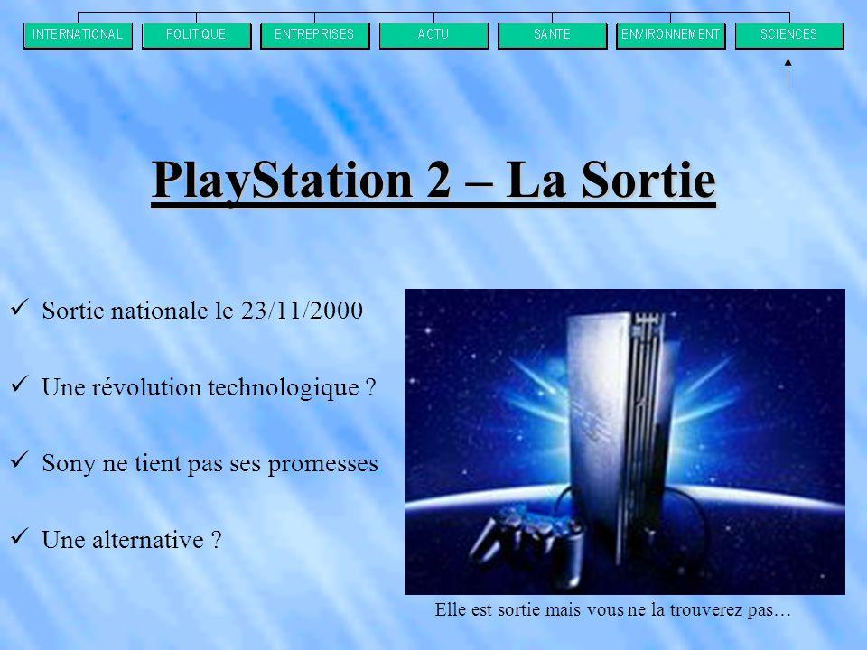 PlayStation 2 – La Sortie