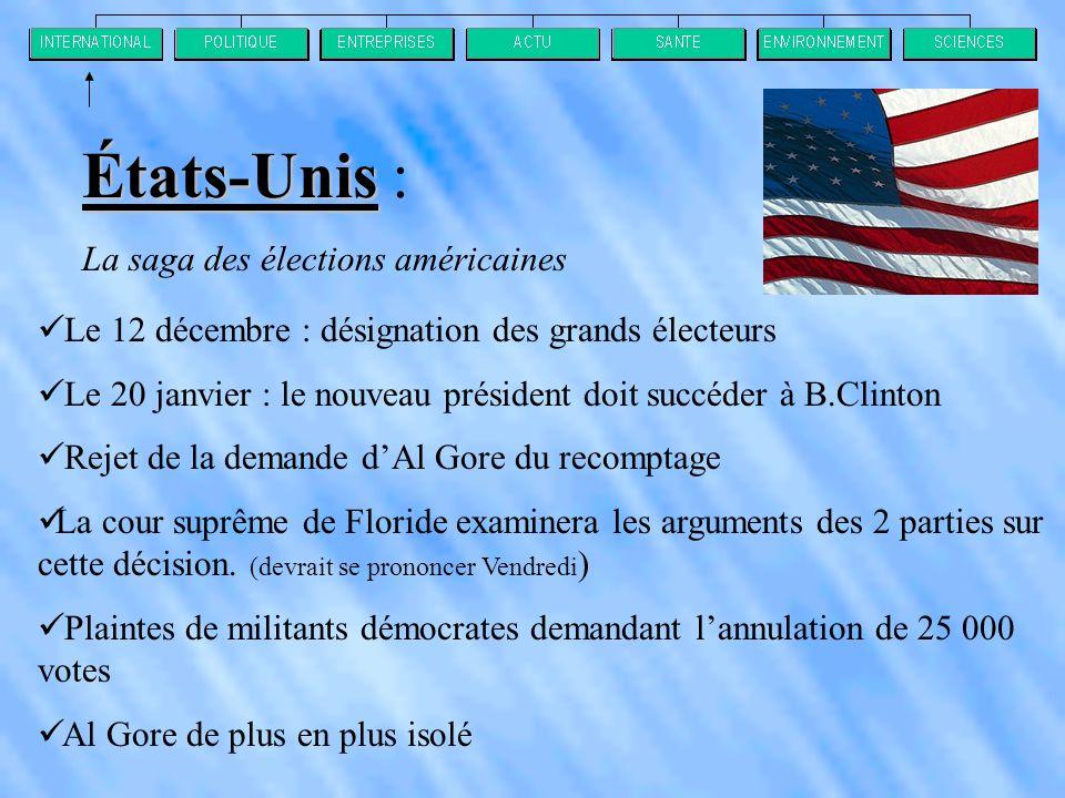 États-Unis : La saga des élections américaines