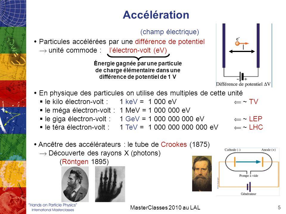 Accélération (champ électrique)
