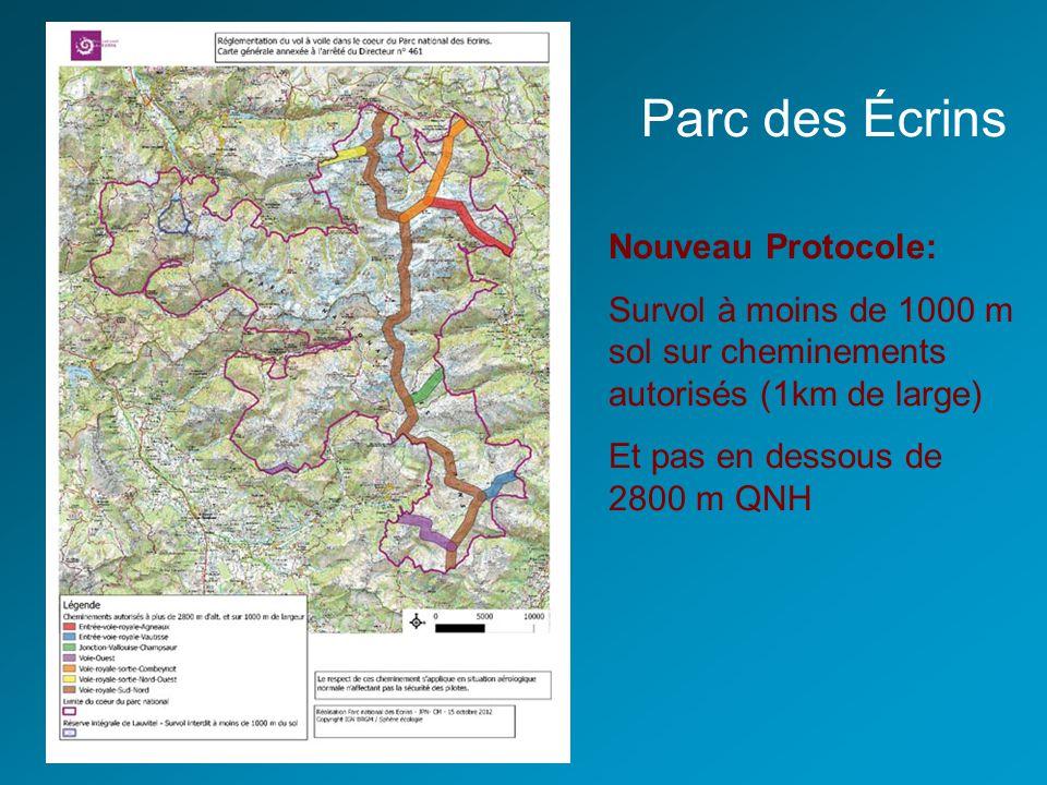 Parc des Écrins Nouveau Protocole: