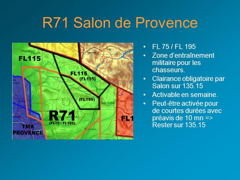R71 Salon de Provence FL 75 / FL 195